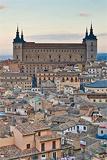 Vista de la Ciudad de Toledo y el Alcázar